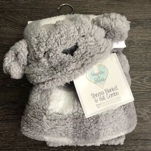 Other - Baby Hooded Sherpa blanket